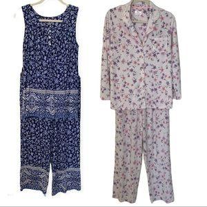 Bundle of 2 Aria Pajama Sets Size Small